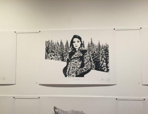 Tessa Rose as Snow Leopard